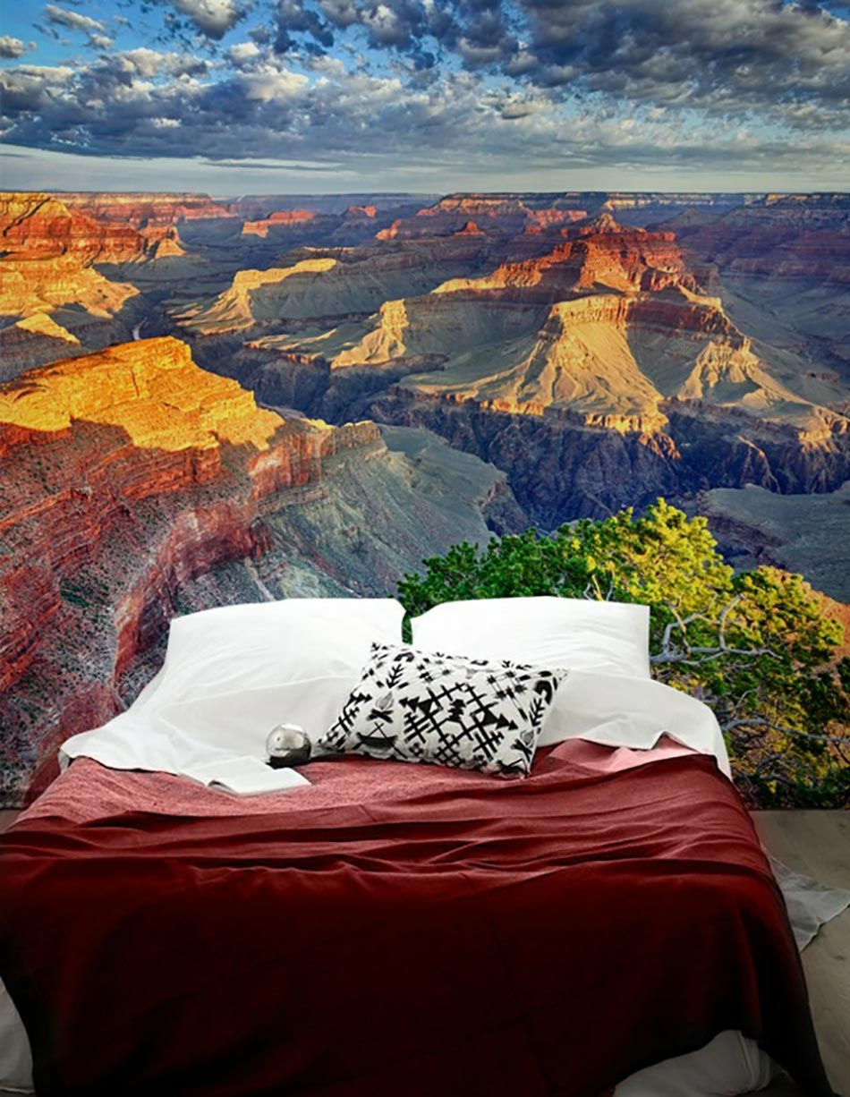 Papier Peint Panoramique Sur Le Grand Canyon