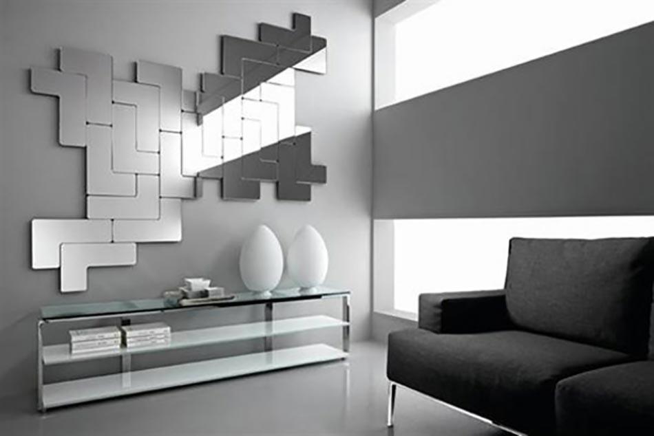 16 id es de d co int rieure l aide des miroirs magiques for Decoration miroir mur