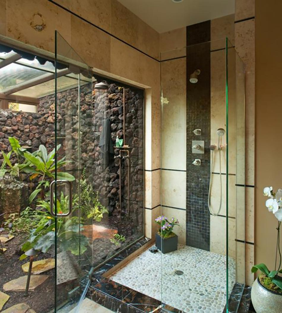 Douche Design Et Saune à Lu0027ambiance Zen