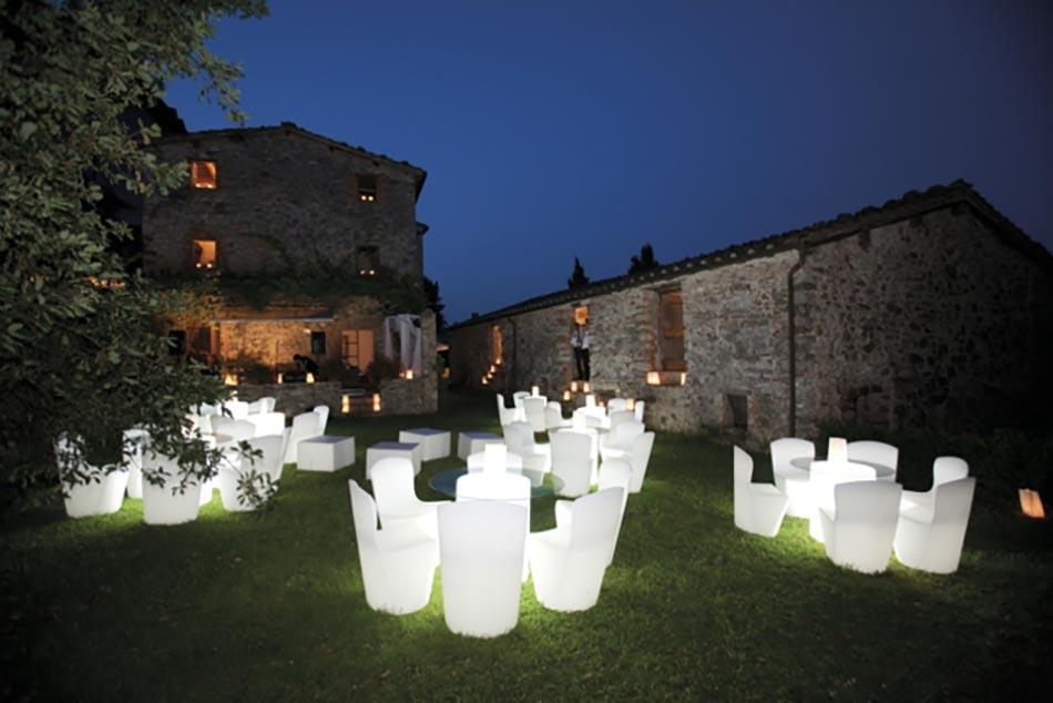 Luminaires Et Mobilier Outdoor Design. La Technologie LED ...