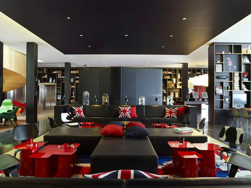 citizen M hotel design Londres