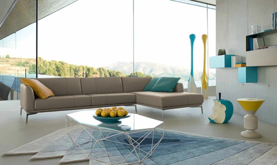 Le canap design revisit par roche bobois for Salon canape roche bobois