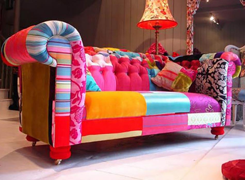 la d coration int rieure la sauce patchwork design feria. Black Bedroom Furniture Sets. Home Design Ideas