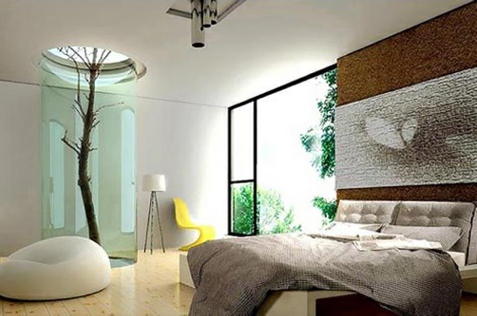 10 conceptions de chambres coucher voir et revoir - Deco maison original ...