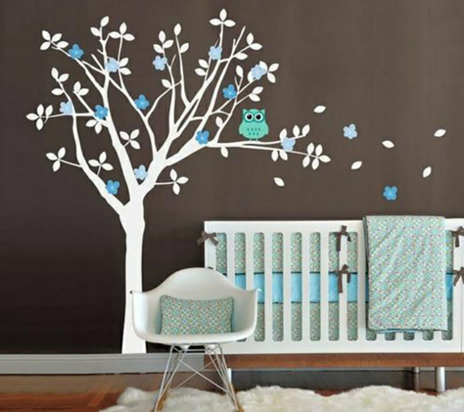 d coration chambre bebe stickers. Black Bedroom Furniture Sets. Home Design Ideas