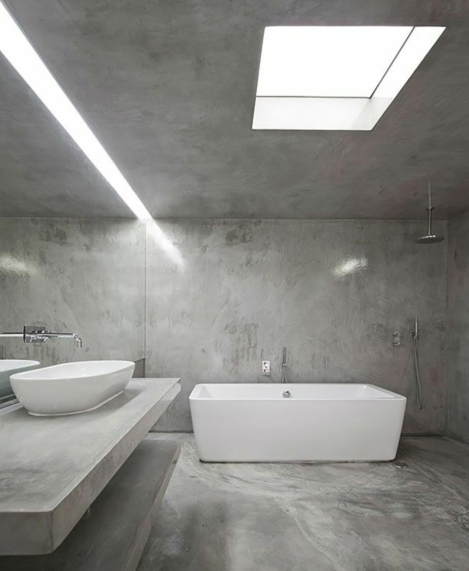 Best Salle De Bain Beton Gris Photos - Amazing House Design ...