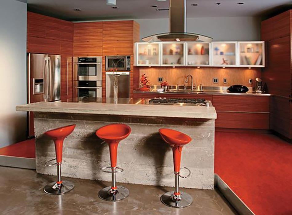 Ilot Cuisine Bois Brut : Kitchen Counter Bar Designs