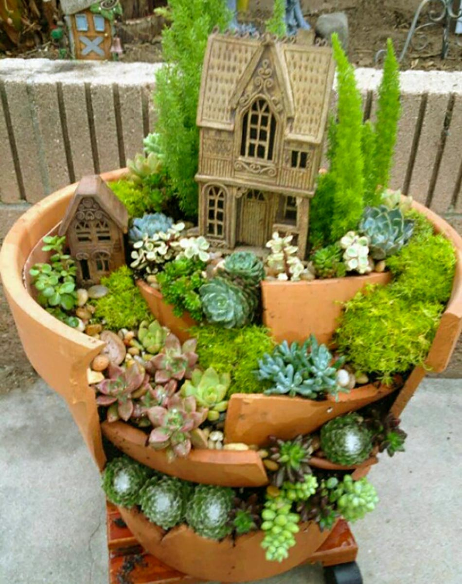 L\'art du mini jardin coquet