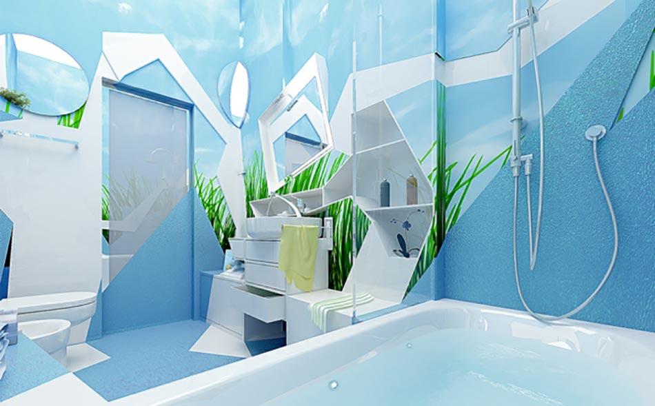 3 concepts de salle de bain qui sortent de l ordinaire. Black Bedroom Furniture Sets. Home Design Ideas