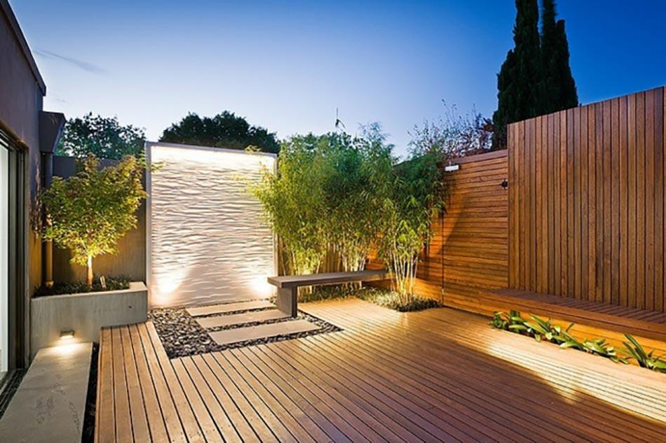 Parfait Aménagement Extérieur Classique Coté Jardin