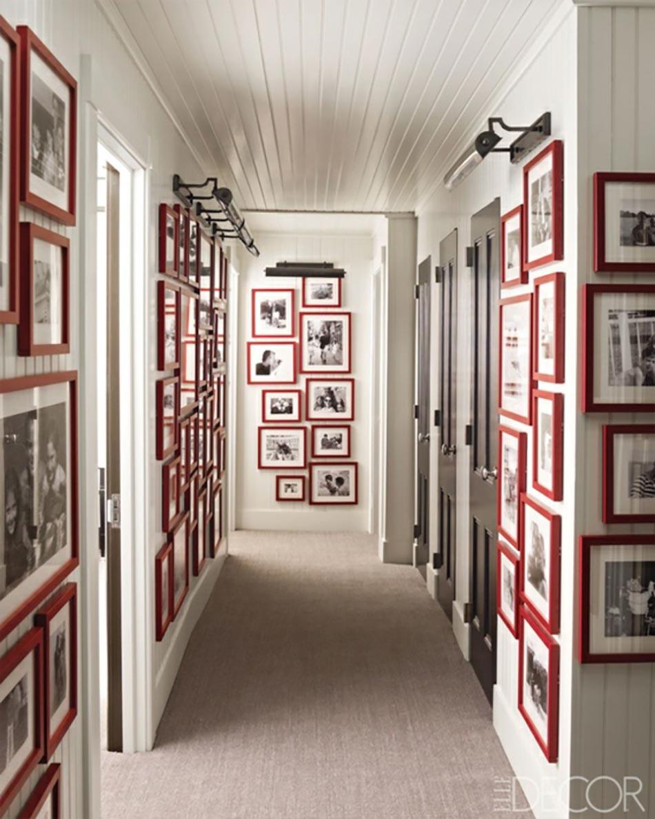 Des id es de d coration pour nos couloirs design feria - Idee deco couloir long ...