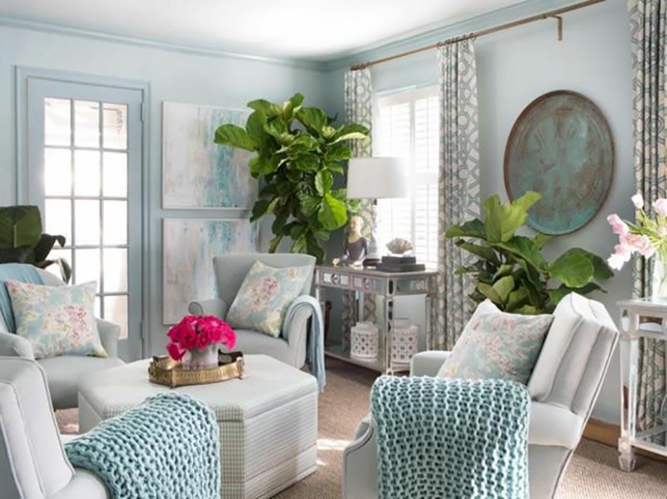 Séjour en couleurs sympa pour une ambiance deco maison unique ...