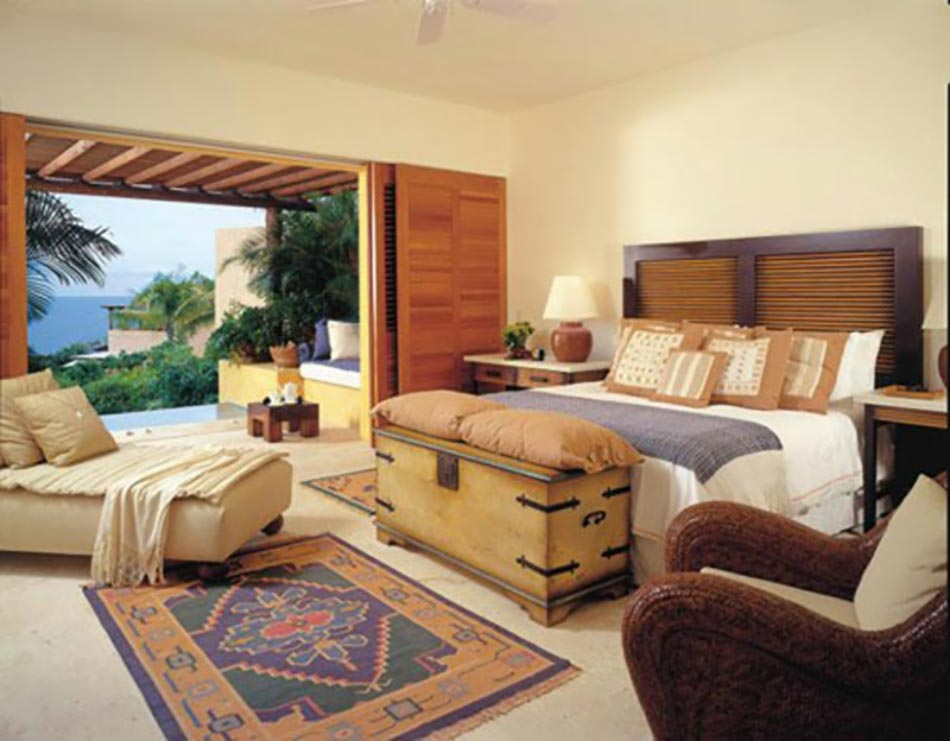 Chambre Bois Exotique : Conceptions de chambres à coucher voir et revoir