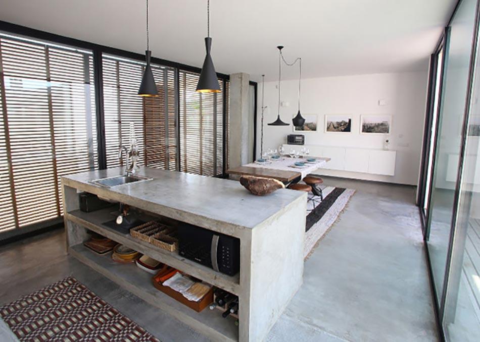 ... en béton ou l'accent industriel dans notre cuisine  Design Feria