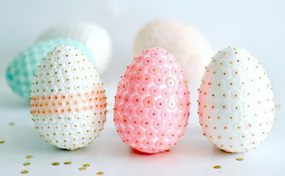 Idée Originale Pour Pâques U2013 œufs Peints En Noir Et Blanc