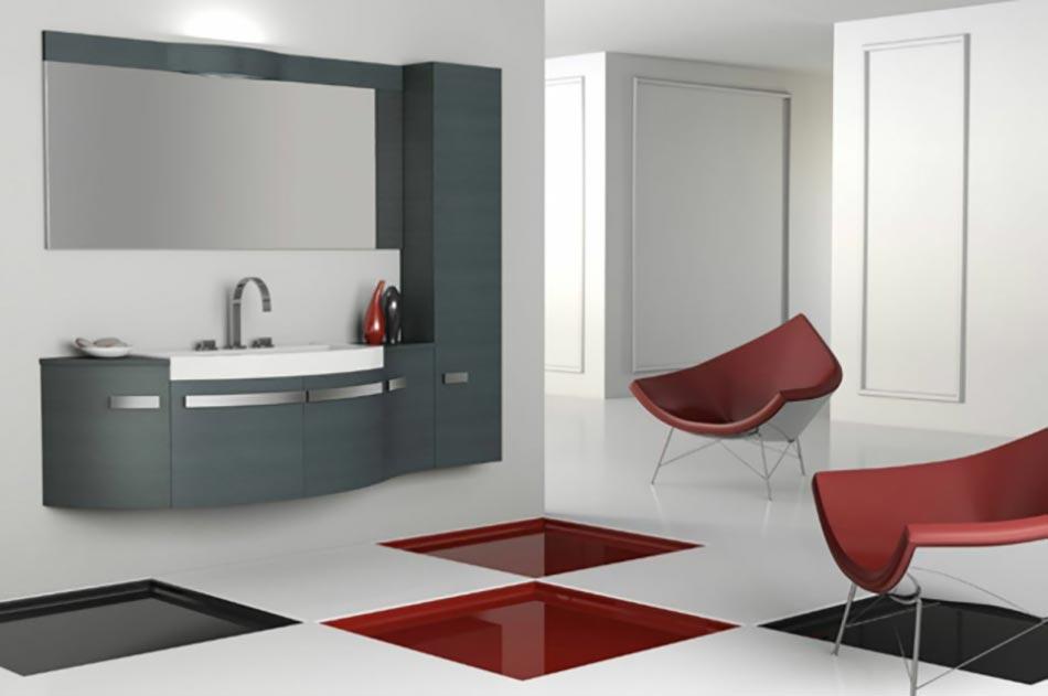 DueBi signe des salles de bain au minimalisme à l'italienne