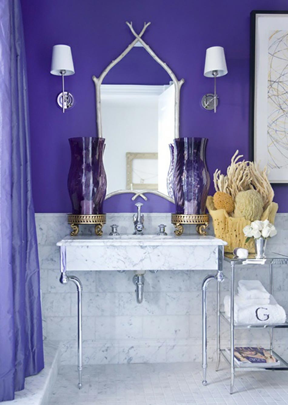 15 salles de bain l insouciance des vacances design feria. Black Bedroom Furniture Sets. Home Design Ideas