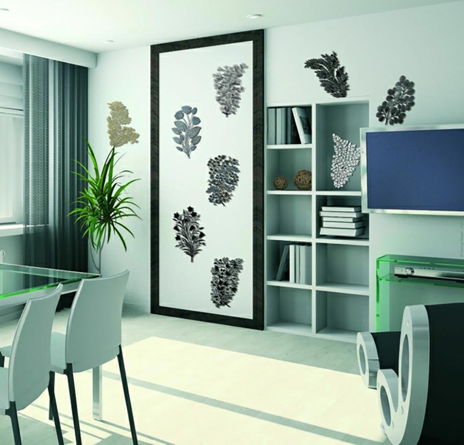20 stickers muraux art d co qui illumineront vos pi ces. Black Bedroom Furniture Sets. Home Design Ideas