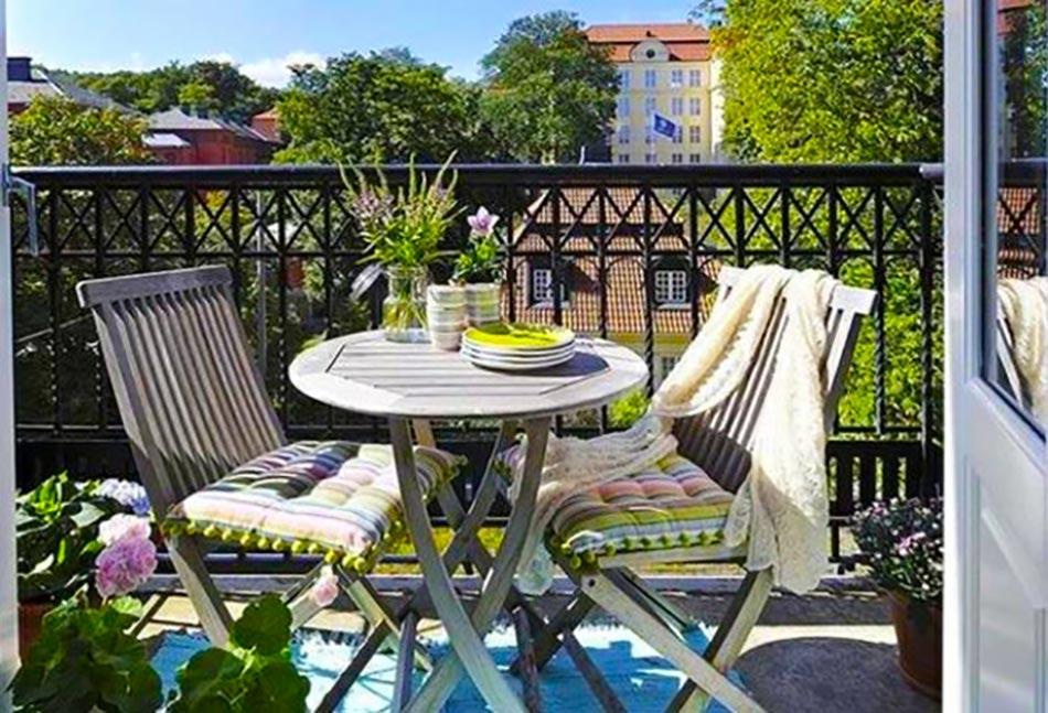 petits balcons de ville l inspiration nordique. Black Bedroom Furniture Sets. Home Design Ideas