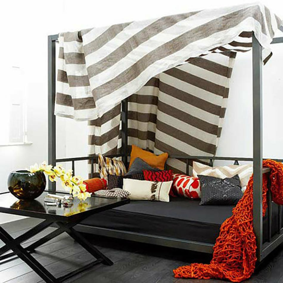 les voiles d ombrage pour embellir notre jardin ou balcon. Black Bedroom Furniture Sets. Home Design Ideas