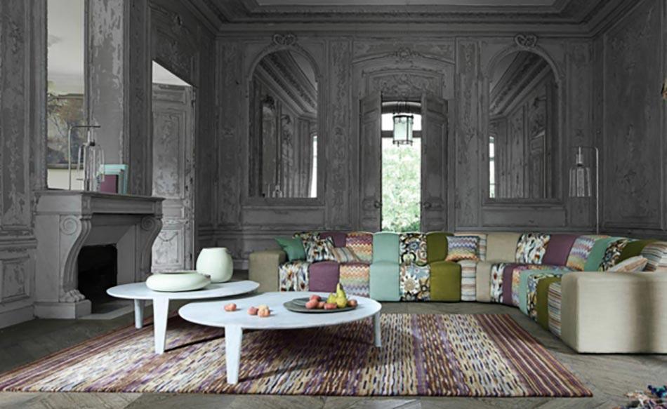 le canap design revisit par roche bobois. Black Bedroom Furniture Sets. Home Design Ideas