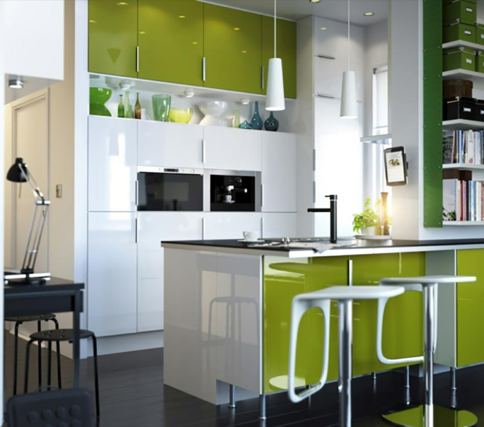 Extrêmement Quand notre cuisine design se met au vert AF38