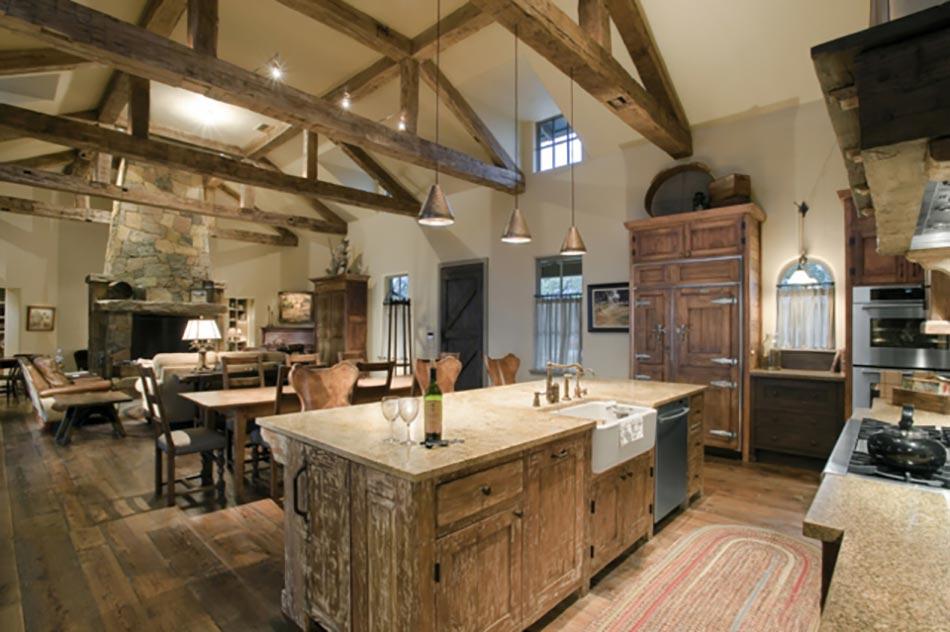 10 astuces pour cr er une cuisine rustique - Ouvrir une cuisine ...