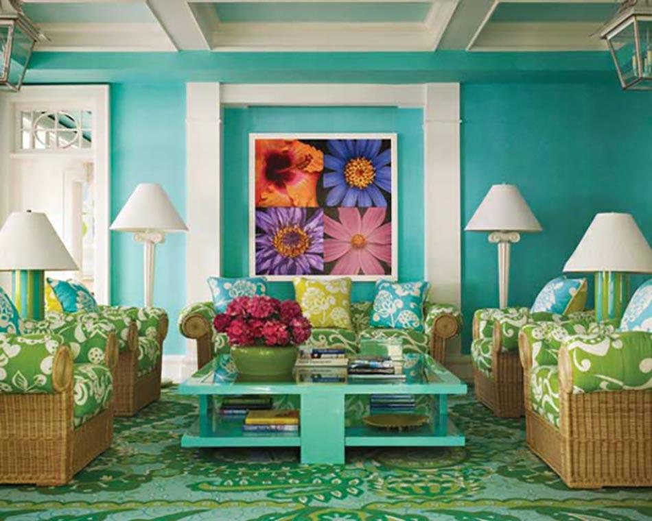Agreable Séjour En Turquoise