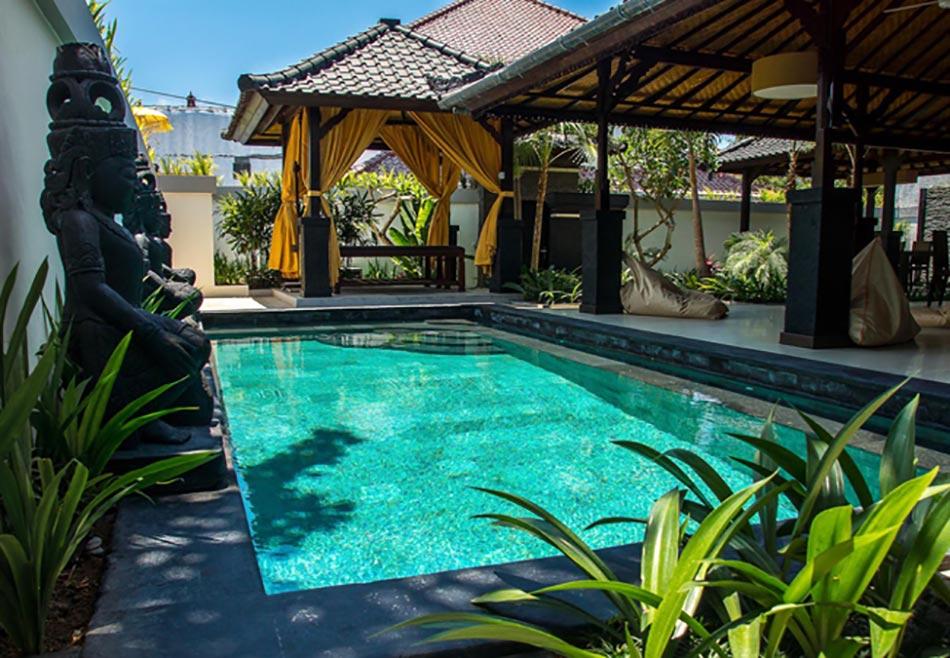 Bali les jardins paradisiaques des villas de vacances for Decoration jardin villa