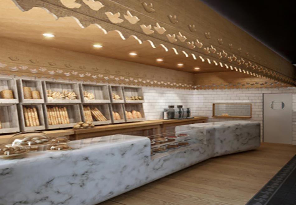 Cuisine Moderne Quartz : Et si la boulangerie était aussi un lieu branché?