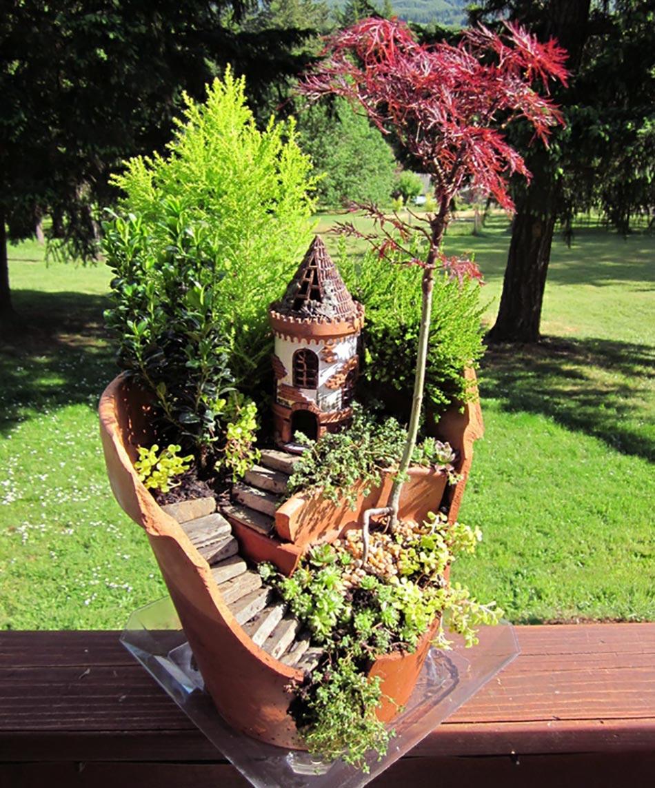 L art du mini jardin coquet - Salon de jardin payable en plusieurs fois ...