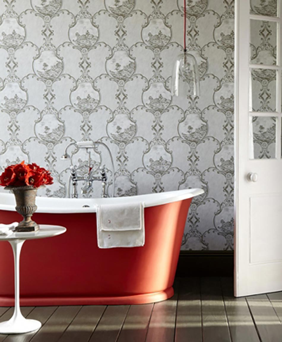 Faience rouge salle de bain - Faience rouge salle de bain ...