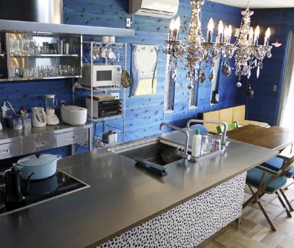 Tapisserie Salle A Manger Moderne : 15 cuisines au design très japonais signées Toyo