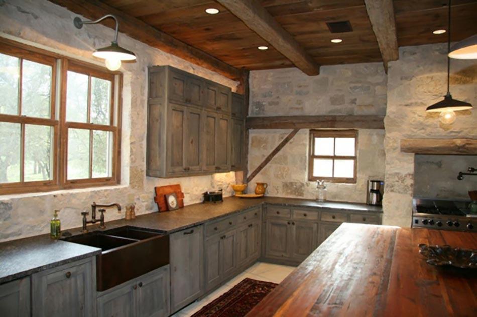 10 astuces pour cr er une cuisine rustique. Black Bedroom Furniture Sets. Home Design Ideas