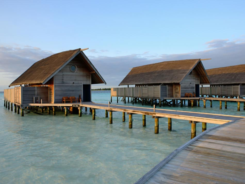 Suites De Luxe Sur Pilotis Aux Cocoa Island