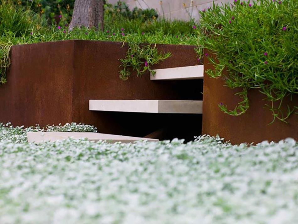 id es cr atives pour un jardin paysagiste unique design. Black Bedroom Furniture Sets. Home Design Ideas