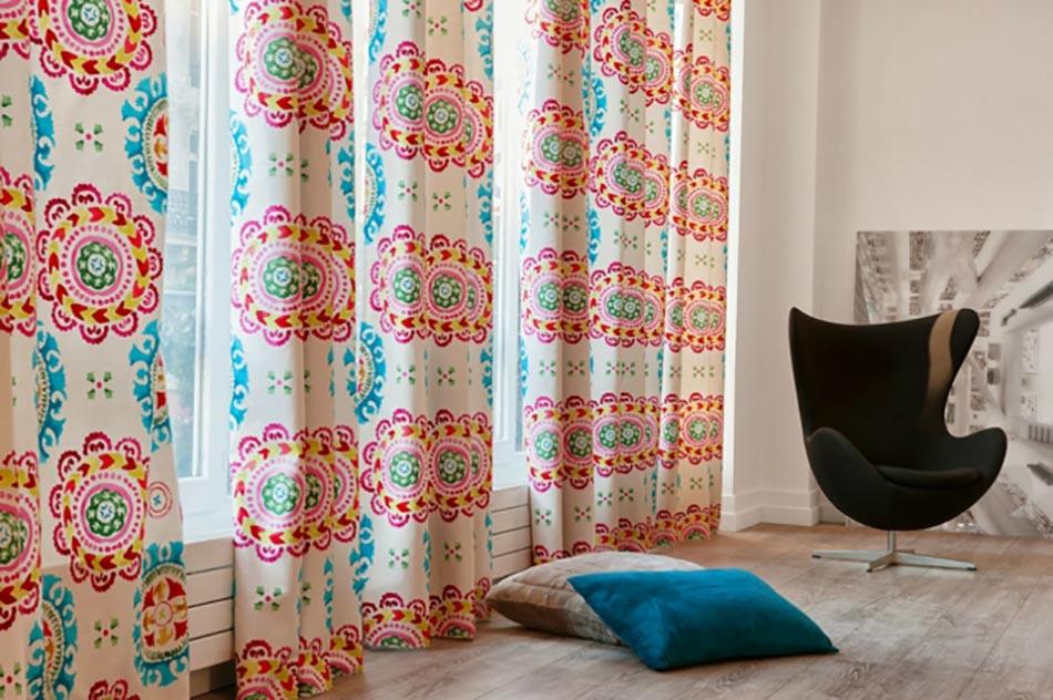 Le linge de maison de style sign madura design feria - Rideaux style marin ...