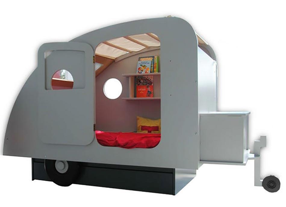 Lit Du0027enfant Original En Forme De Caravane