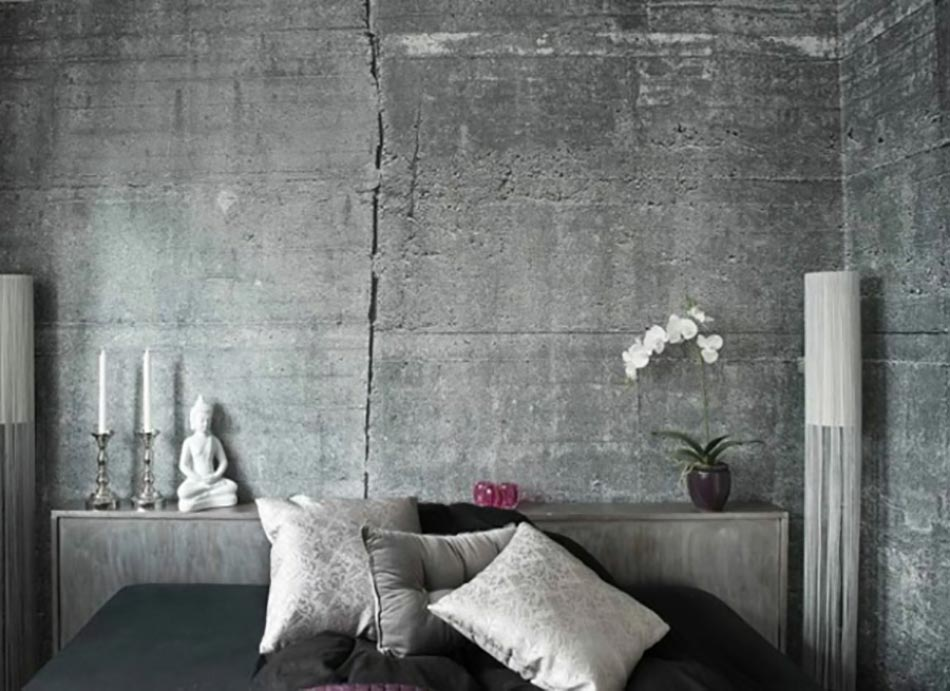 Préférence Le béton ou la griffe tendance du design contemporain CC71