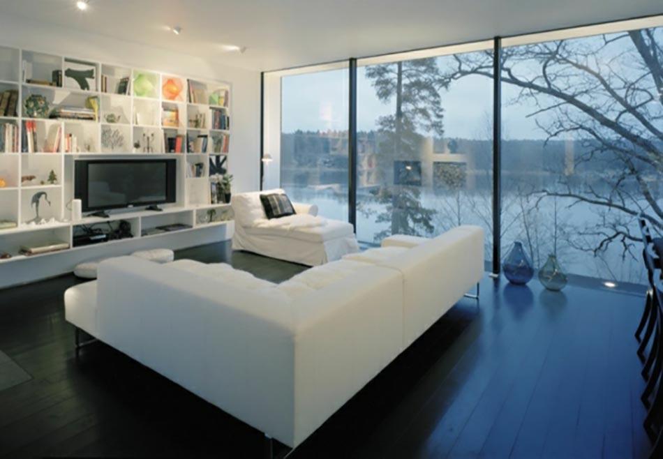 Vue Magnifique Pour Salon Moderne