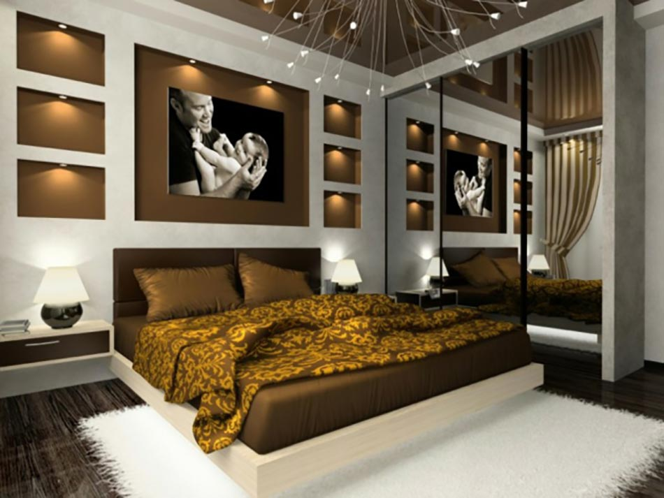 15 d corations couleurs pour une chambre coucher unique. Black Bedroom Furniture Sets. Home Design Ideas