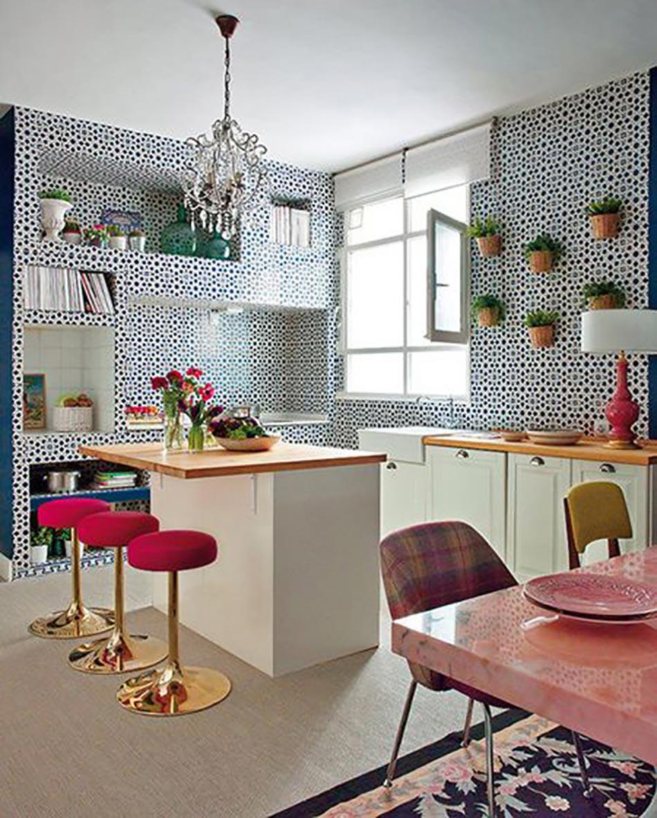 Id es d co pour une petite cuisine ouverte design feria - Decoration petite cuisine ...