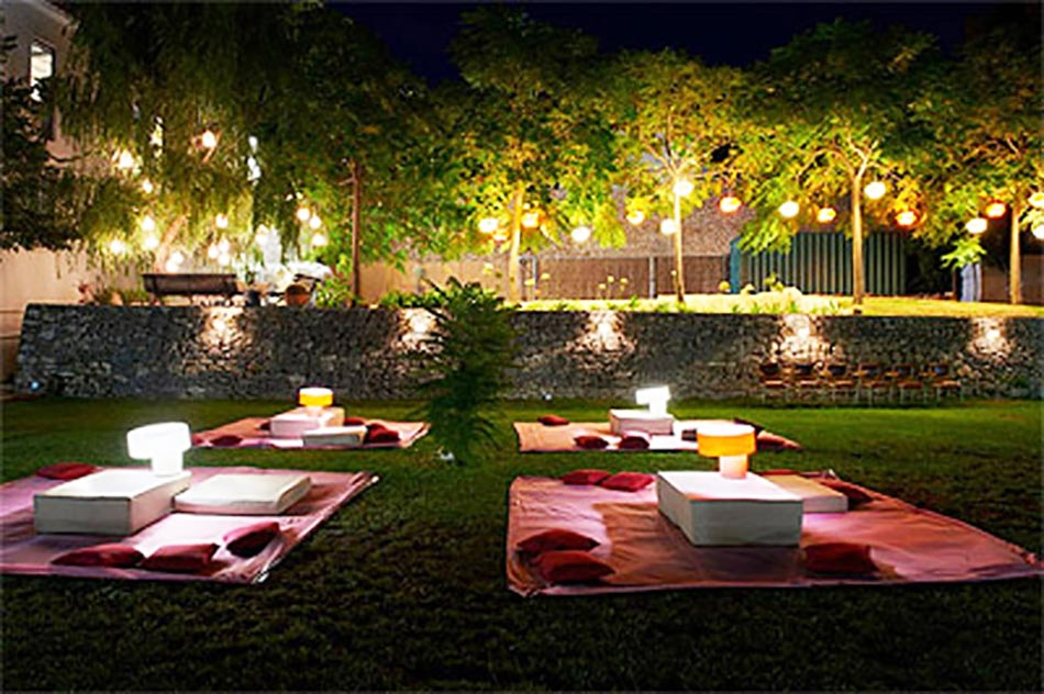 outdoor party lights luminaire jardin pour un outdoor d exception design feria 30225