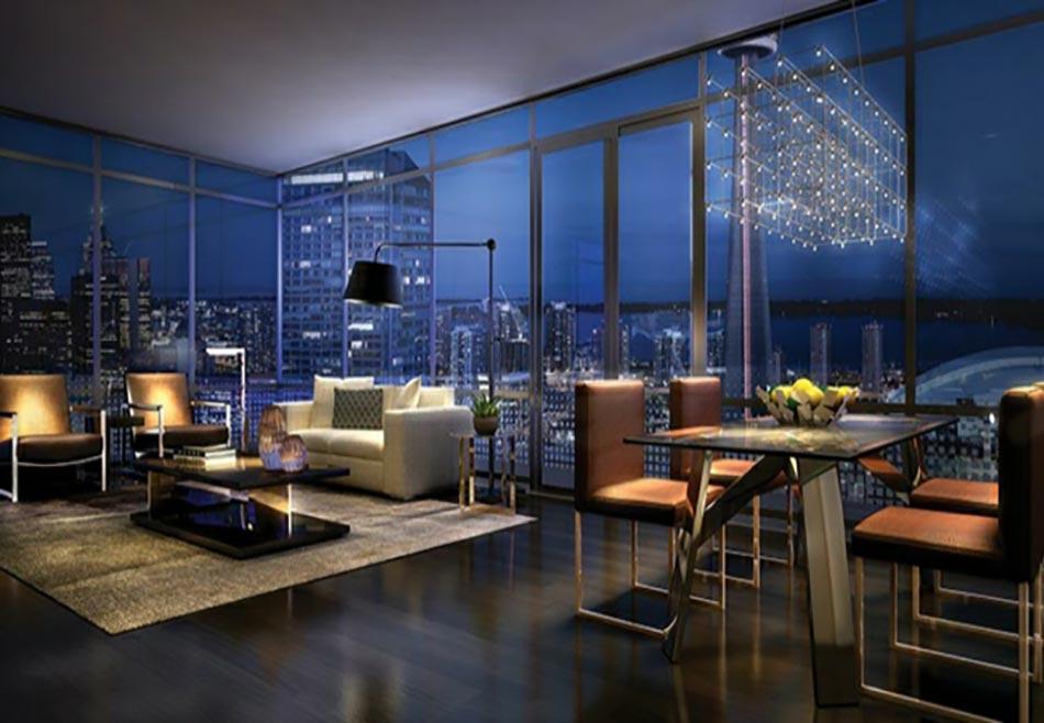 Elegant Appartement à La Vue Sur La Ville