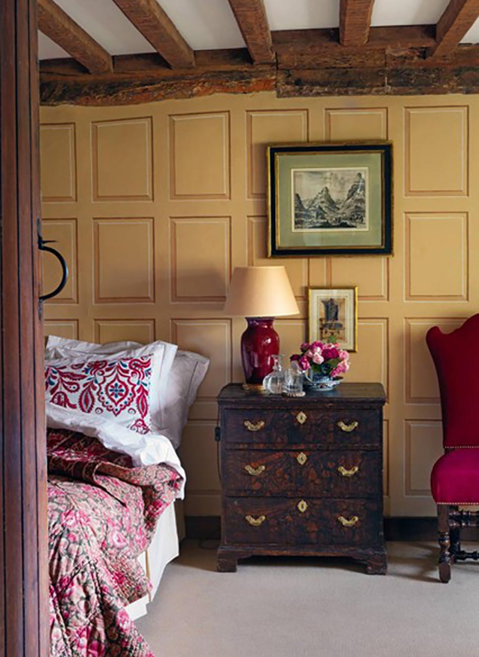 Chambre ambiance campagne design de maison for Chambre ambiance nature