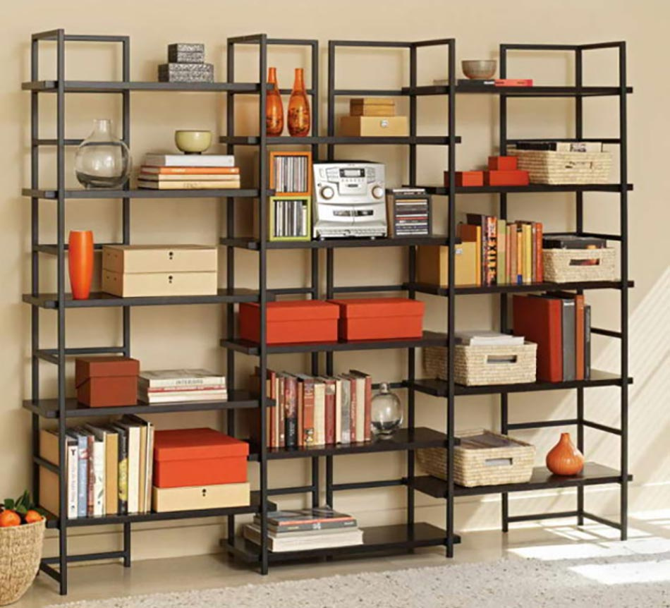 les tag res en tant que mobilier de bureau cr atif design feria. Black Bedroom Furniture Sets. Home Design Ideas