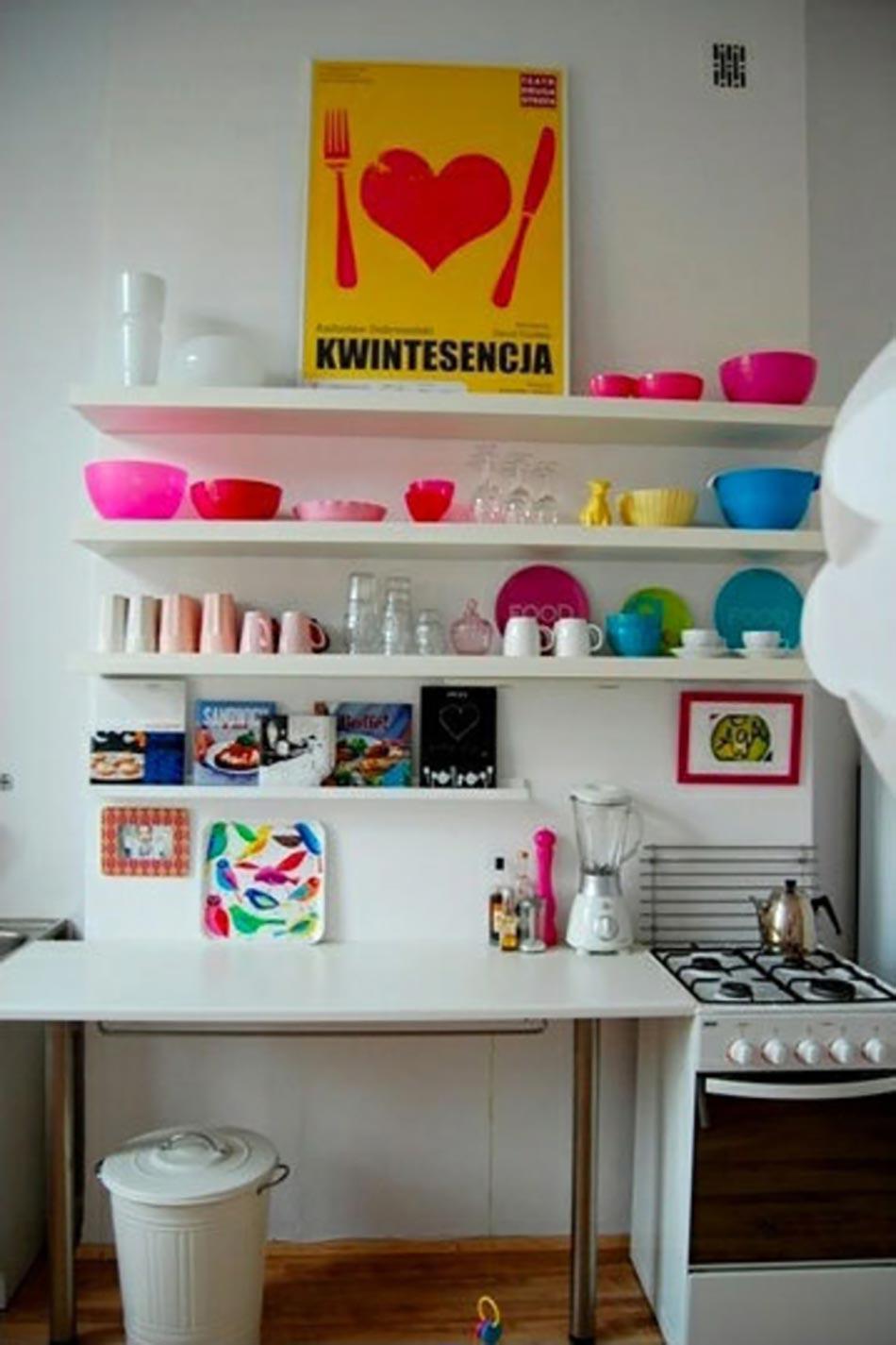 8 id es d co design pour concevoir une cuisine moderne - Organizacion de armarios ...