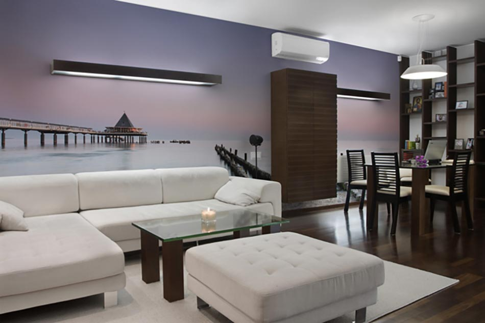 paysage int rieur magnifique en papier peint panoramique design feria. Black Bedroom Furniture Sets. Home Design Ideas