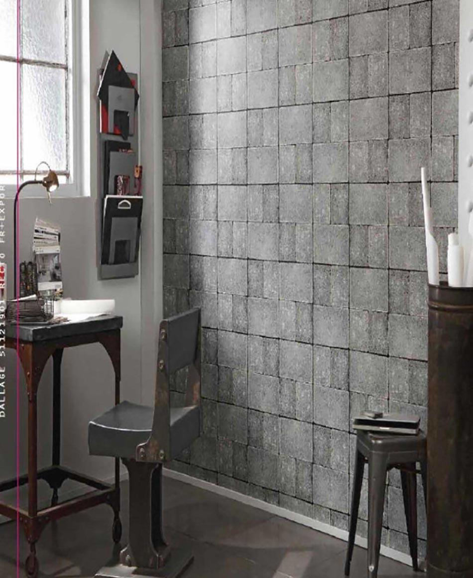 papiers peints cr atifs pour une salle de bain design design feria. Black Bedroom Furniture Sets. Home Design Ideas