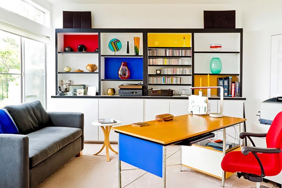 L am nagement du bureau la maison design feria - Idee couleur bureau ...
